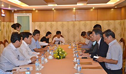 Liên doanh Nippon Koei Nhật Bản: Mong muốn tham gia các dự án lớn của tỉnh BR-VT.